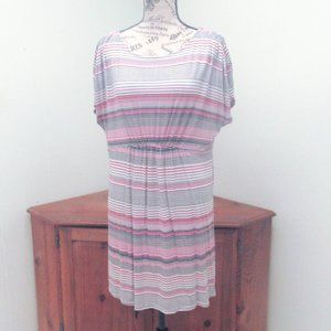 Motherhood Striped Tunic / Dress Size Large